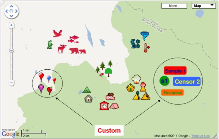 Mapmaker examples geokov add icons and draw on the map publicscrutiny Choice Image